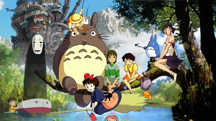 "Resultado de imagem para Studio Ghibli"""