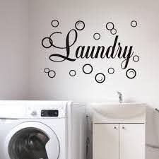 Amazon Com Moharwall Laundry Room Decal Quote Bubble Stciker Laundry Signs Wall Lettering Vinyl Art Sticker Decor Arts Crafts Sewing