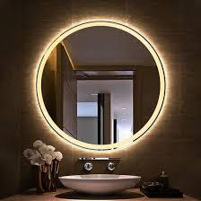 led lighted infinity silver mirror