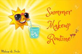 summer makeup routine oily skin