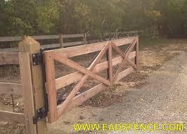 Ohio Fence Company Eads Fence Co Kentucky Board Split Rail Gates