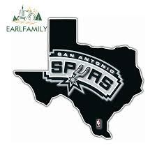 San Antonio Spurs Vinyl Car Truck Decal Window Sticker Nba Basketball Sports Mem Cards Fan Shop Basketball Nba Dr Lindner Ipn Co Il