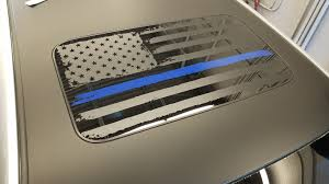 Tattered Flag Moonroof Decal Huge Vinyl Decal Custom Size Or Etsy Flag Decal Vinyl Vinyl Decals