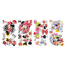 Roommates Minnie Shopping Wall Decal