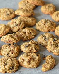 oatmeal brown sugar cookies with