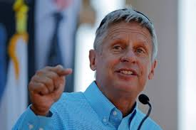 Bring Out a Third Lectern for Gary Johnson - WSJ