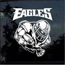 Philadelphia Eagles Football Player Window Decal Sticker Custom Sticker Shop