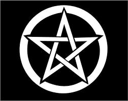 Pentacle Pentagram Vinyl Decal Witch Wiccan Pagan Window Etsy