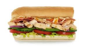 menu en bacon melt subway