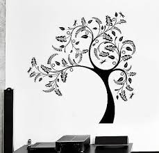 Wall Vinyl Decal Tree Nature Relax Amazing Sticker