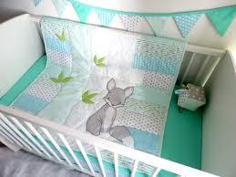 gift idea woodland nursery bedding boy