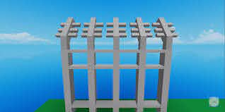Hmm Rate My First Fence Robloxgamedev