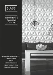 Slabb Products Catalog Slabb Architectural Concrete Pdf Catalogs Documentation Brochures