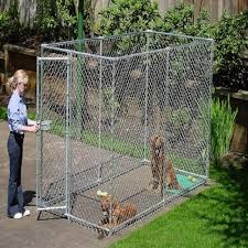 Complete Kennel 10 X 10 X 6 Value Chain Link Kennel Kingcats Fence Com
