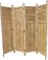 Amazon Com Bamboo 4 Panel Screen Outdoor Decorative Fences Garden Outdoor