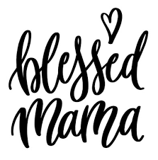 Blessed Mama Heart Vinyl Decal Sticker For Home Cup Mug Glass Wall Decor Choice Ebay