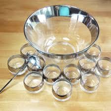 glass punch bowl set on wanelo