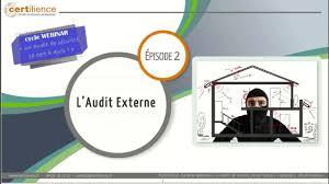 cycle Audit - l'Audit Externe | Certilience