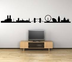 London Panorama Silhouette Giant Wall Decal Wall Stickers Store Uk Shop With Wall Stickers Wall Decals Product Decal Decor Wall Sticker