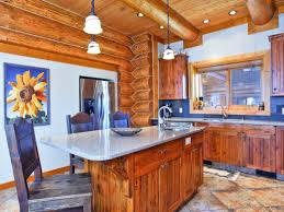 log home kitchens north american log