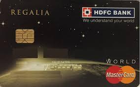 card advise hdfc regalia review
