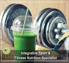 sport fitness nutrition specialist