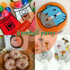Cumpleanos Gumball The Amazing World Of Gumball Party Un