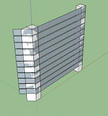 How Should I Cover An Empty Space Between A Fence Post And A Garage Wall Home Improvement Stack Exchange