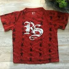 ryan sheckler boys red cotton t shirt