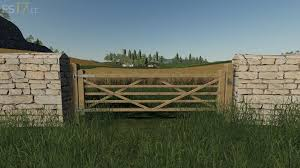 Wooden Gates Fences And Stone Walls Pack V 1 0 Fs19 Mods