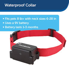 Amazon Com Petsafe Stubborn Dog Receiver Collar In Ground Fence Collar Waterproof With Tone Vibration And Static Correction For Dogs 8lb And Up Petsafe Pet Behavior Deterrent Products Pet Supplies