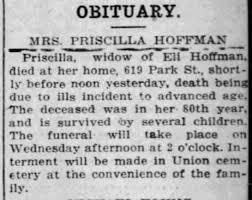 Priscilla Hoffman Obituary - Newspapers.com
