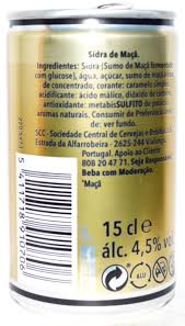 strongbow cider 150ml portugal
