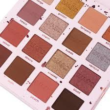 iuhan 16 colors eyeshadow palette