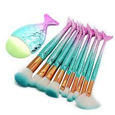 kabuki mermaid makeup brushes