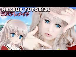 nao tomori makeup cosplay tutorial