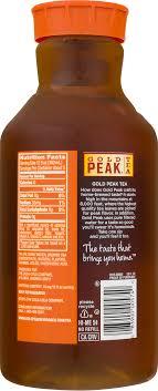 peak unsweetened iced tea 59 fl oz