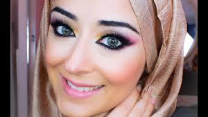 barbie makeup pink gold smokey eye