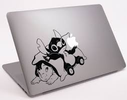 Baby Lilo And Stitch Laptop Notebook Macbook Decal 11 13 15 17 Dm 0298 On Etsy 8 99 Laptop Decal Stickers Macbook Decal Stickers Lilo And Stitch