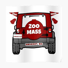 Zoo Mass Jeep Poster By Brookeee101 Redbubble