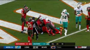 Buccs fumble recovery in end zone | Video | Watch TV Show | Sky Sports
