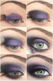 smokey eye makeup tutorial for green