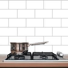 Subway Tile Backsplash Wall Decals Home Decor Wall Decals