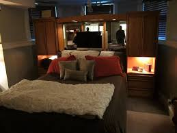 queen bedroom wall unit m a williams