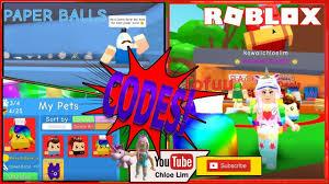 roblox paper ball simulator gamelog