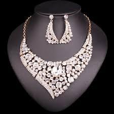 crystal jewellery indian wedding