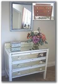 diy mirrored furniture diy mirror
