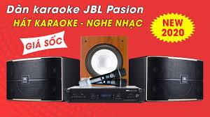 Dàn Karaoke Gia Đình Cao Cấp - Loa JBL Pasion 12 | Khuyến Mãi Giảm Giá, Cực  Sâu - YouTube