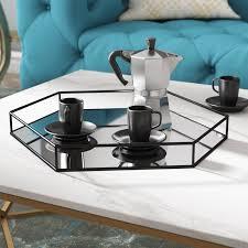 everly quinn snyder mirrored hexagon