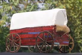 how to make a pioneer wagon with